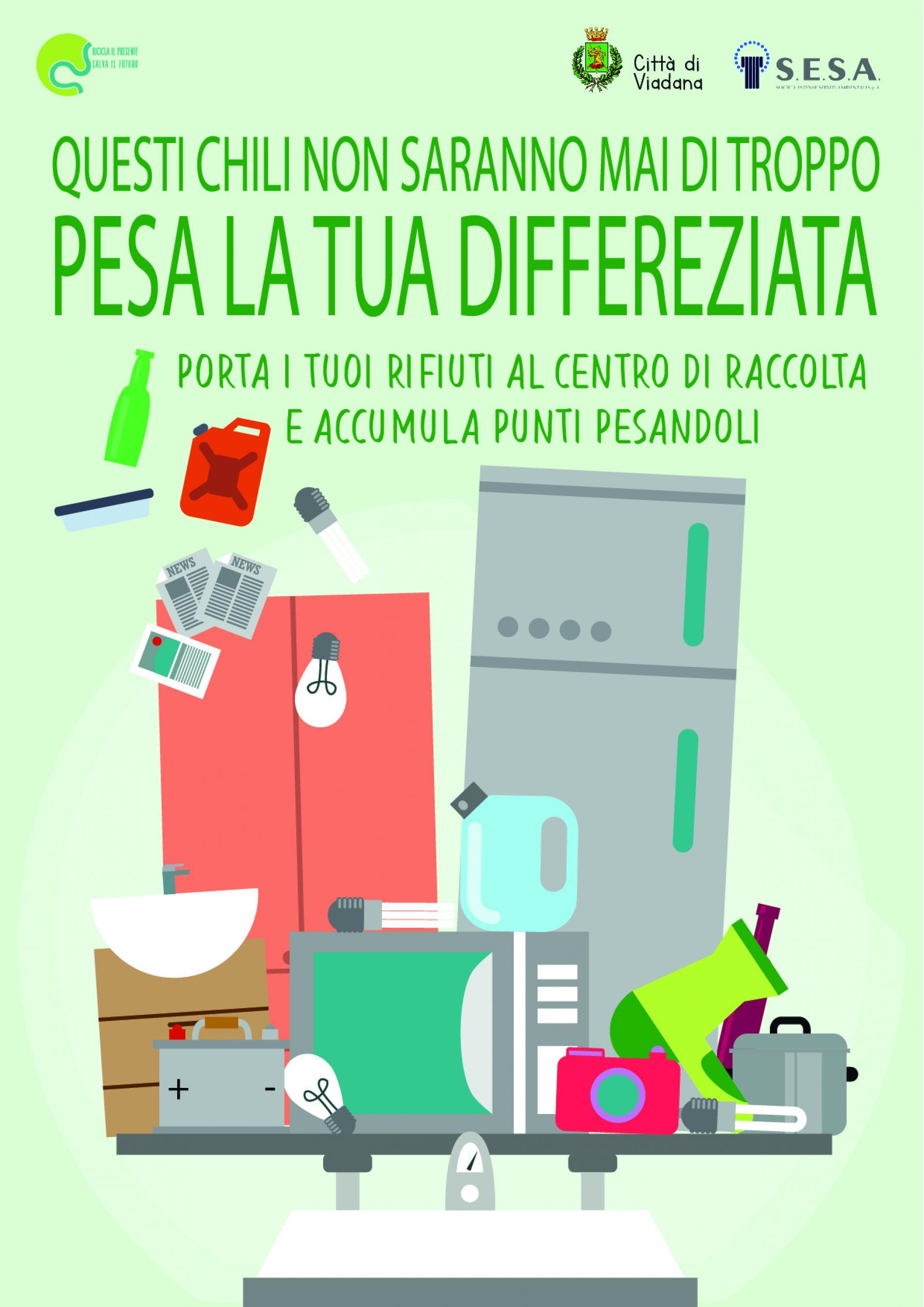 PESA LA TUA DIFFERENZIATA